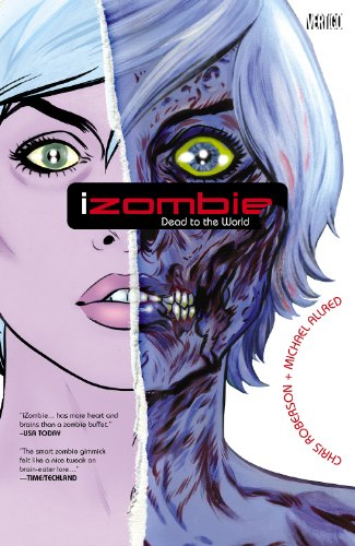 iZombie Vol. 1 by Chris Roberson & Michael Allred | books, reading, book covers