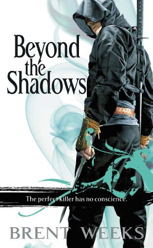 Beyond the Shadows by Brent Weeks | reading, books, book covers, cover love, cloaks, hoods