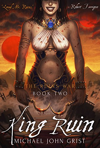 King Ruin by Michael John Grist | books, reading, book covers