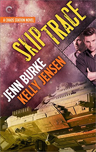 Skip Trace by Jenn Burke & Kelly Jensen | reading, books, book covers, cover love, spaceships, ufos