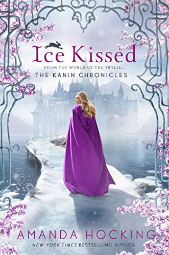 Ice Kissed by Amanda Hocking | reading, books, books covers, cover love, snow