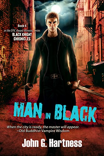 Man in Black by John G. Hartness | reading, books, book covers, cover love, vampires