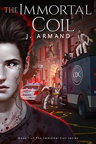 The Immortal Coil by J. Armand | reading, books, book covers, cover love, vampires