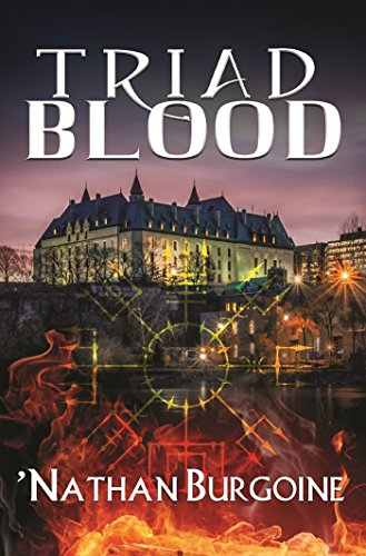 Triad Blood by Nathan Burgoine | books, reading, book covers