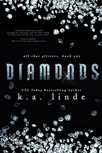 Diamonds by K.A. Linde | books, reading, book covers, cover love