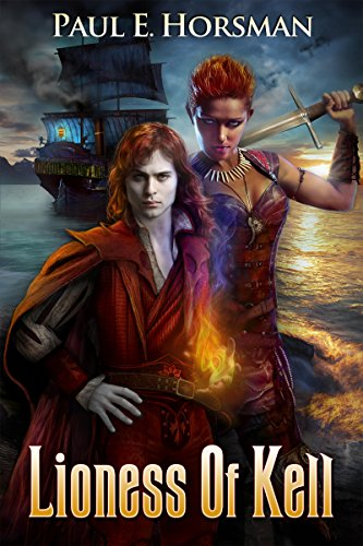 Lioness of Kell by Paul E. Horsman | reading, books, book covers, cover love, ships