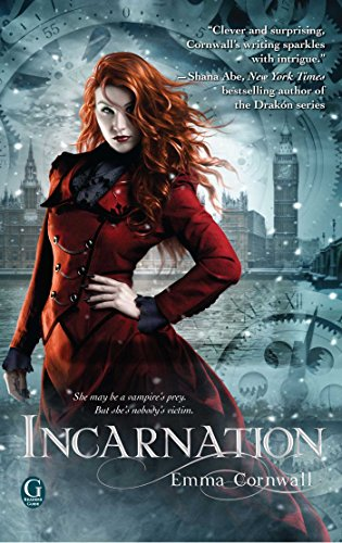 Incarnation by Emma Cornwall | reading, books, book covers, cover love, fashion