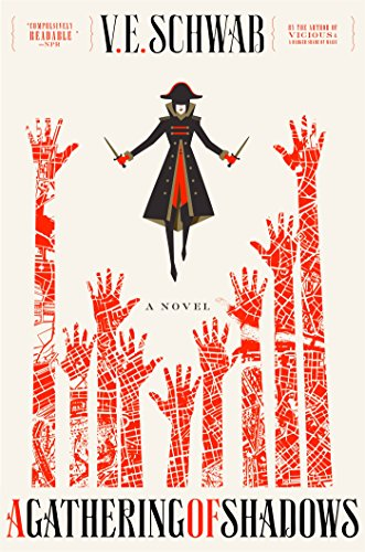 A Gathering of Shadows by V.E. Schwab | books, reading, book covers