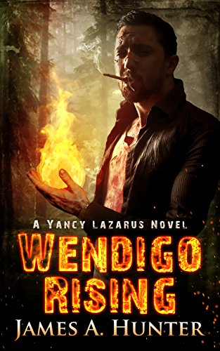 Wendigo Rising by James A. Hunter | books, reading, book covers
