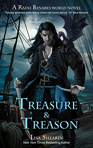 Treasure & Treason by Lisa Shearin | reading, books, book covers, cover love, fashion
