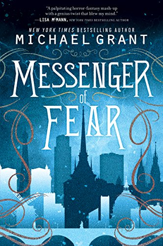 Messenger of Fear by Michael Grant | books, reading, book covers, cover love, skylines