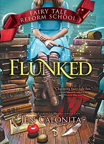 Flunked by Jen Calonita | reading, books, book covers, cover love, skulls