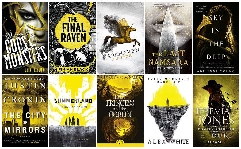 Black, White, & Yellow Book Covers | reading, books, book covers, cover love, yellow