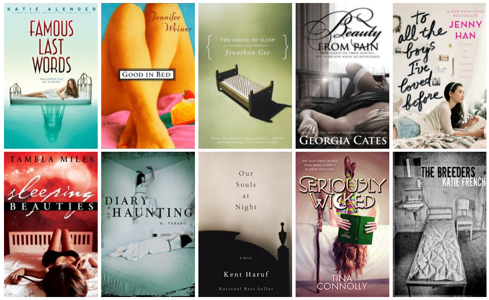 Book Covers featuring Beds | books, reading, book covers, cover love, beds