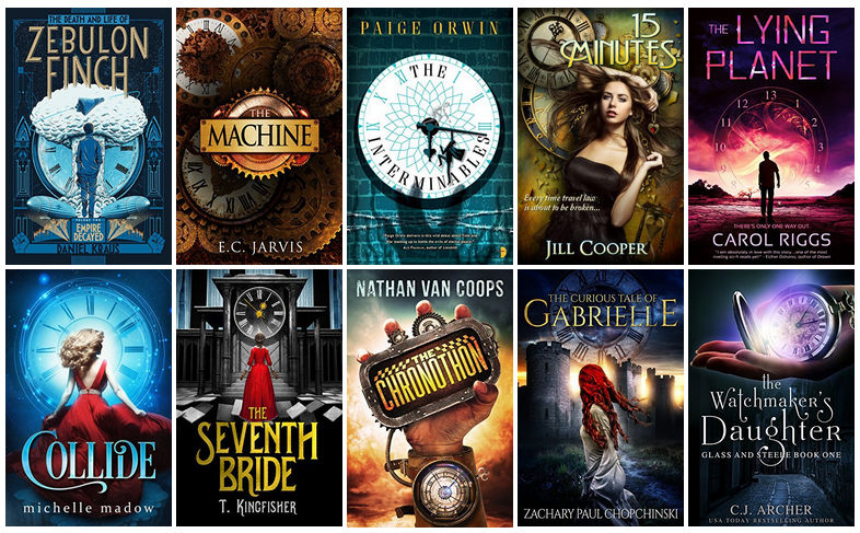 Book Covers featuring Clocks | reading, books, book covers, cover love, clocks