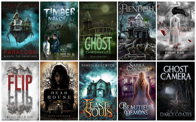 Book Covers featuring Haunted Houses | reading, books, book covers, cover love, haunted houses