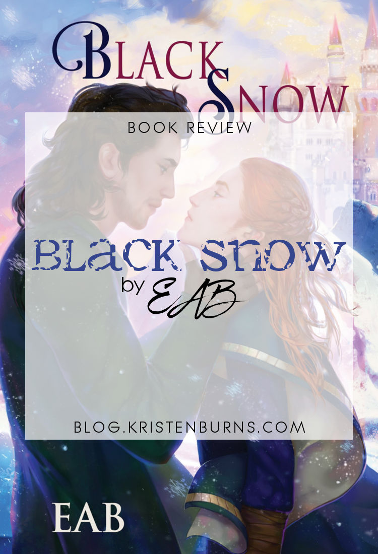 Book Review: Black Snow by EAB | reading, books, book reviews, fantasy, high fantasy, lgbt, m/m