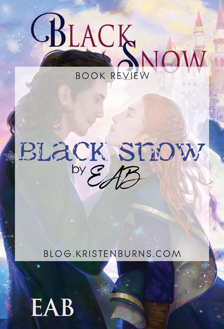 Book Review: Black Snow by EAB | reading, books, book reviews, fantasy, high fantasy, lgbt, m/m
