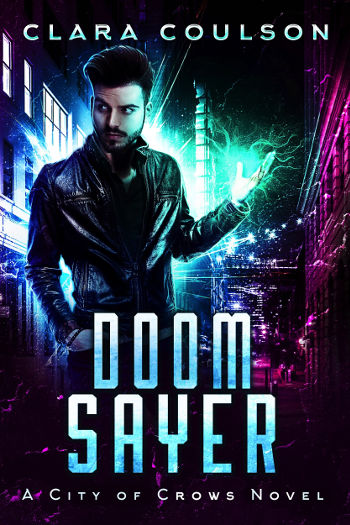 Book Review: Doom Sayer (City of Crows Book 4) by Clara Coulson | reading, books, book reviews, paranormal/urban fantasy, lgbt
