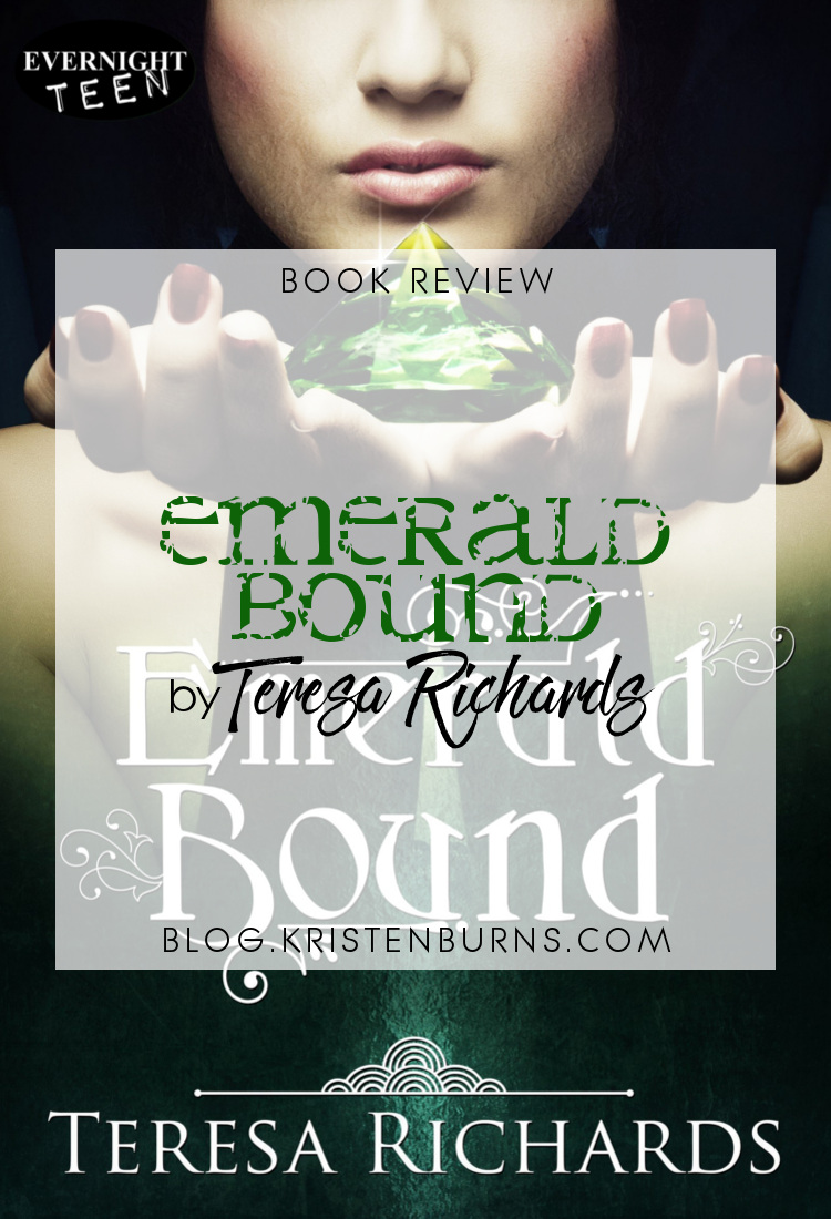 Book Review: Emerald Bound by Teresa Richards | reading, books, book reviews, fantasy, young adult, retelling, the princess and the pea