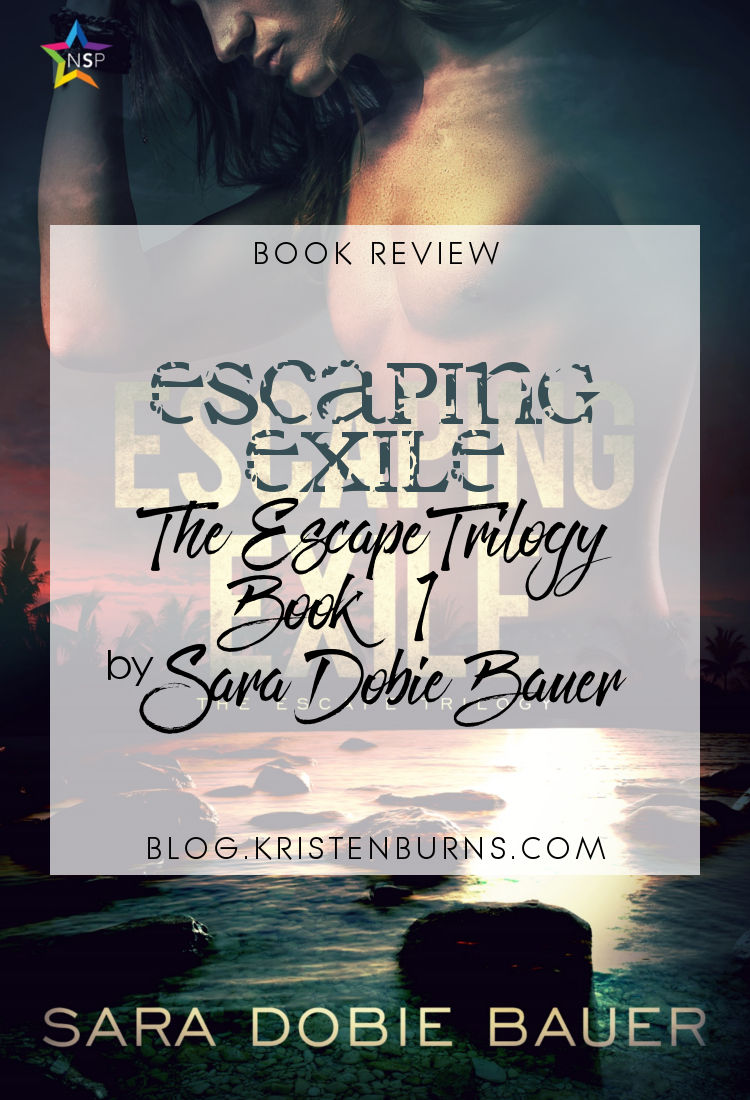 Book Review: Escaping Exile (The Escape Trilogy Book 1) by Sara Dobie Bauer | reading, books, book reviews, paranormal romance, m/m, vampires