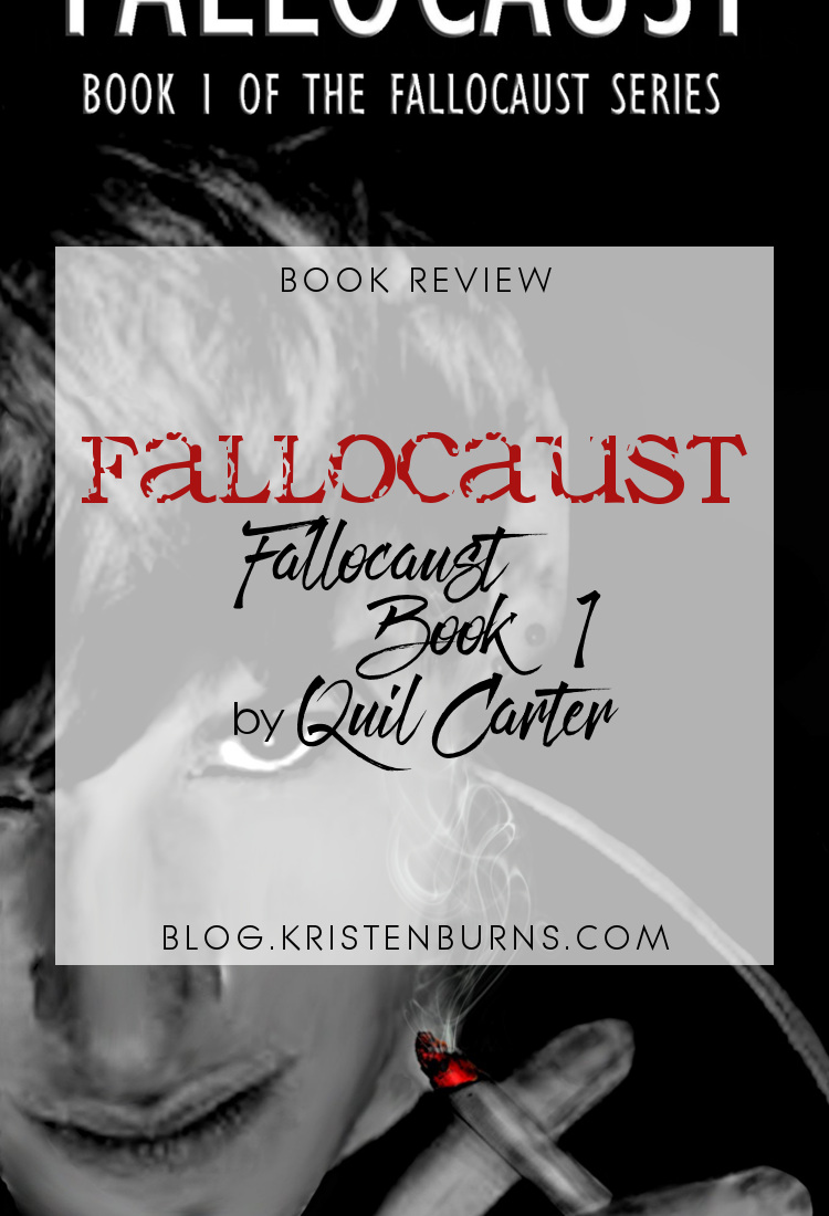 Book Review: Fallocaust (Fallocaust Book 1) by Quil Carter | reading, books, book reviews, science fiction, dystopian, lgbt, m/m