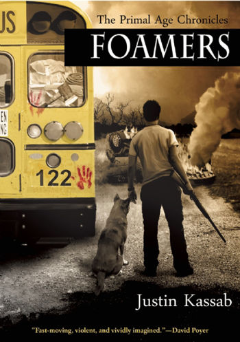 Book Review: Foamers (The Primal Age Chronicles Book 1) by Justin Kassab | reading, book reviews, science fiction, post-apocalyptic, zombies