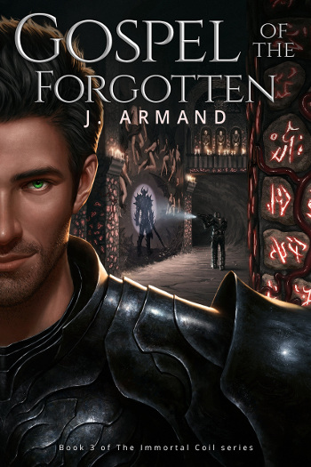 Book Review: Gospel of the Forgotten (The Immortal Coil Book 3) by J. Armand | reading, books, book reviews, fantasy, urban fantasy, lgbt, m/m, vampires, telepaths