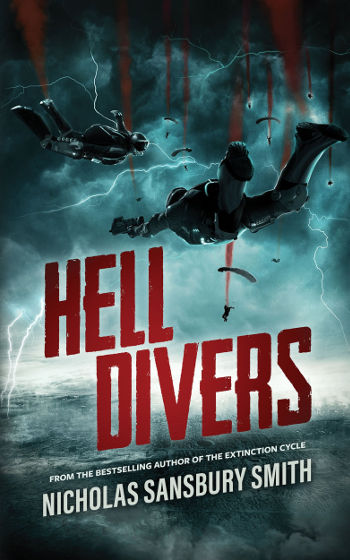 Book Review: Hell Divers (Hell Divers Book 1) by Nicholas Sansbury Smith | reading, books, book reviews, science fiction, post-apocalyptic