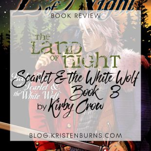 Book Review: The Land of Night (Scarlet & the White Wolf Book 3) by Kirby Crow