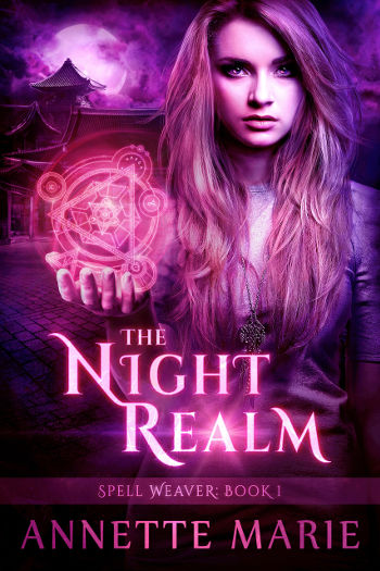 Book Review: The Night Realm (Spell Weaver Book 1) by Annette Marie | reading, books, book reviews, fantasy, paranormal/urban fantasy, young adult, incubus