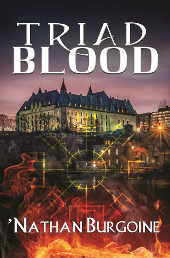 Book Review: Triad Blood (Triad Blood Book 1) by 'Nathan Burgoine | reading, books, book reviews, fantasy, paranormal/urban fantasy, lgbt, vampires, incubus, witches