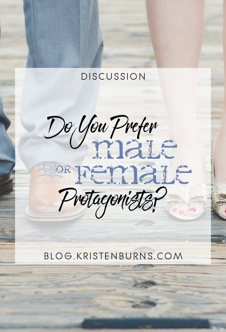 Discussion: Do You Prefer Male or Female Protagonists? | books, reading, discussions