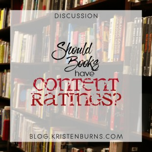 Bookish Musings: Should Books Have Content Ratings?