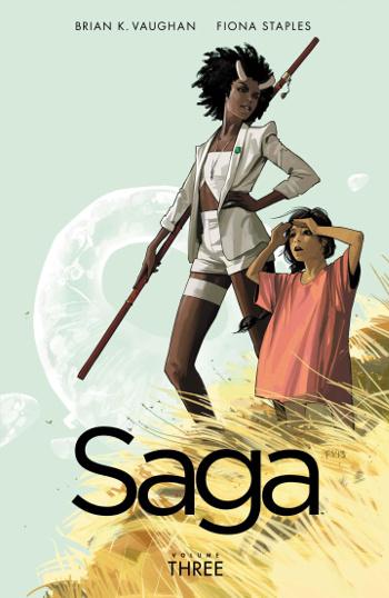 Graphic Novel Review: Saga Vol. 3 by Brian K. Vaughan | reading, graphic novel reviews, fantasy, science fiction