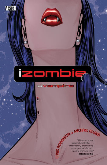 Graphic Novel Review: iZombie Vol. 2 by Chris Roberson & Michael Allred | reading, books, book reviews, graphic novels, fantasy, paranormal/urban fantasy, zombies, shifters, ghosts, mummies