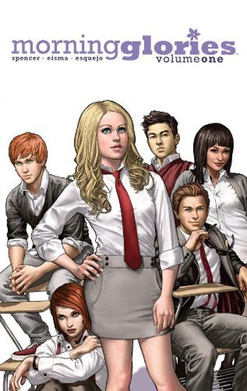 Graphic Novel Review: Morning Glories Vol. 1 by Nick Spencer & Joe Eismas | reading, books, book reviews, graphic novel, fantasy, urban fantasy, young adult