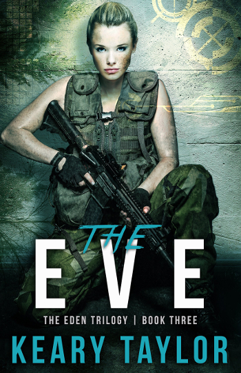 Book Review: The Eve (The Eden Trilogy Book 3) by Keary Taylor | books, reading, book covers, book reviews, sci-fi, dystopian, post-apocalyptic, YA, cyborgs