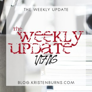 The Weekly Update: 1/17/16