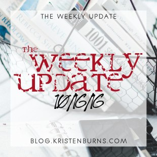 The Weekly Update: 10/16/16