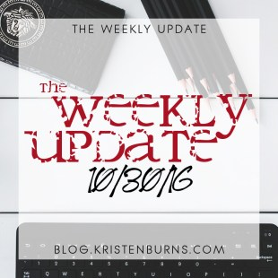 The Weekly Update: 10/30/16