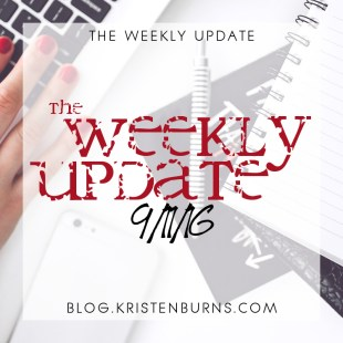 The Weekly Update: 9/11/16
