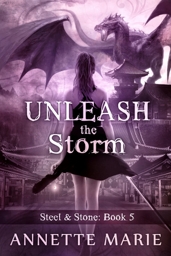 Book Review: Unleash the Storm (Steel & Stone Book 5) by Annette Marie | books, reading, book covers, book reviews, fantasy, urban fantasy, young adult, dragons, incubi