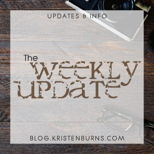 Updates & Info: The Weekly Update (1) + Embarrassing Insight Into My Chronic Indecision a la Big Bang Theory References