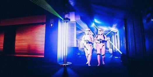 Stormtroopers invade Belgium for STAR WARS REBELS. Shot for Disney Channel. © Kris Van de Sande
