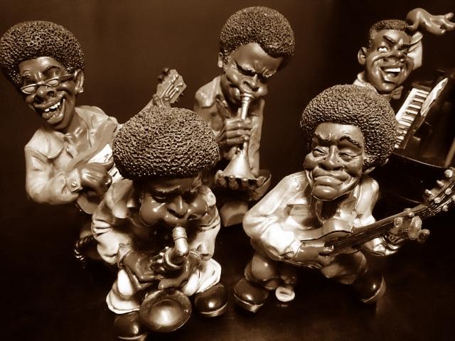 黒人バンド