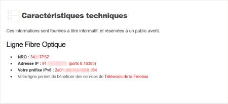Exemple d'IP partagée chez Free