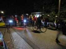 An der Startlinie vor dem Altengammer Fährhaus