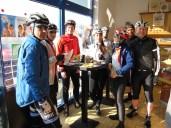 Nach 65km erste Bäckerpause in Rheinsberg
