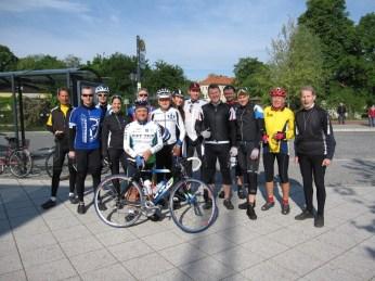 Start auf Friedensfahrt Kurs 2012 in Ludwigsfelde